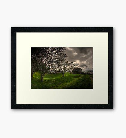 Mt Eden Volcano Framed Print