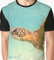 Turtle Art Graphic T-Shirt
