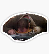 Buster Cries Sticker