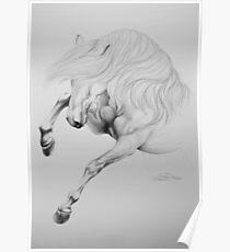 """""""Wild & Untamed"""" - Graphite Sketch Poster"""