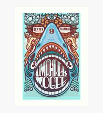 Umphreys Mcgee - Shark Art Print