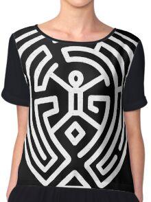 Westworld Maze Chiffon Top