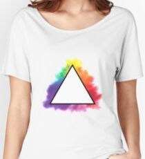 Rainbow Triangle Women's Relaxed Fit T-Shirt
