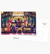 Mr. Fight Money Postcards