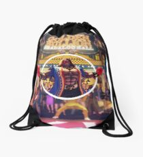 Mr. Fight Money Drawstring Bag