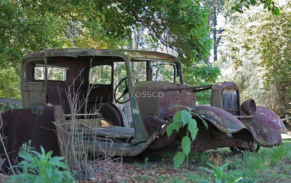 Resting & Rusting by rossco