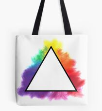 Rainbow Triangle Tote Bag