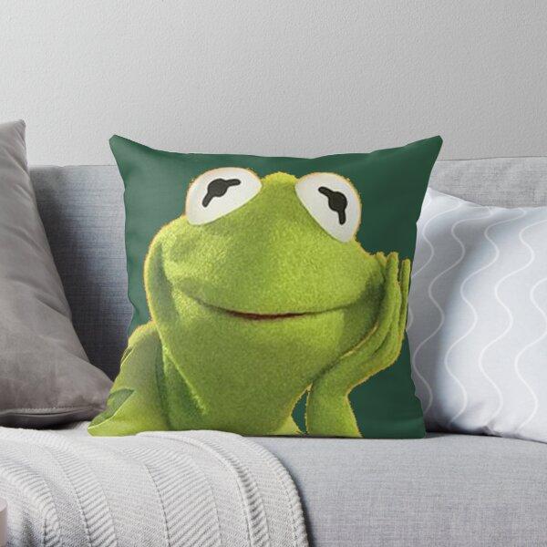 Kermit the Bob Throw Pillow