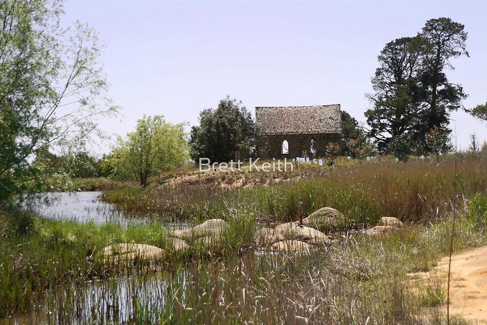 Church by the creek by Brett Keith