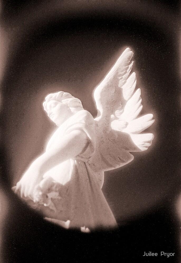 sepia angel by Juilee  Pryor