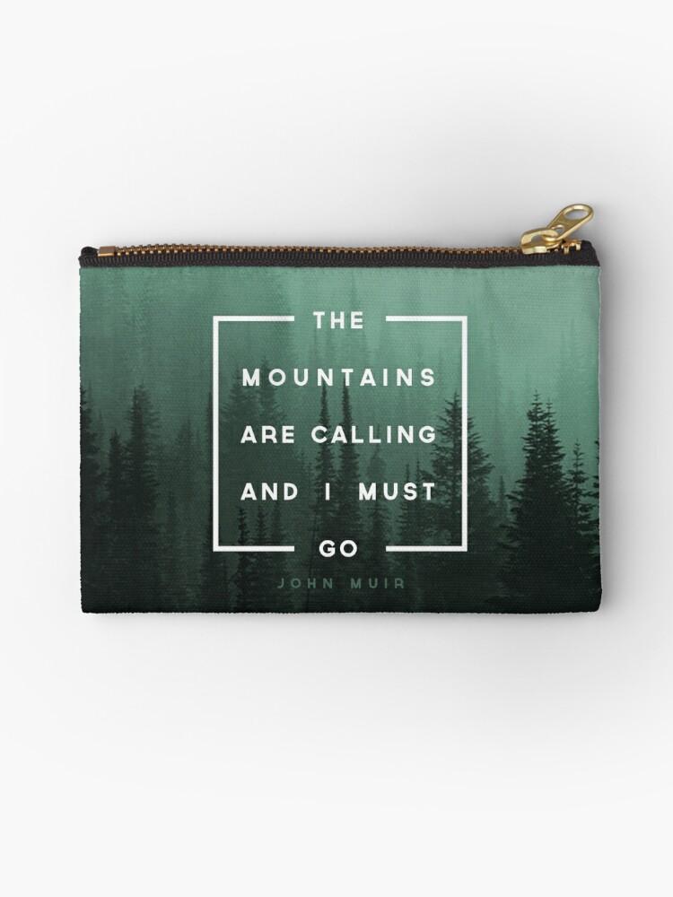 «Las montañas están llamando y debo ir» de Zeke Tucker