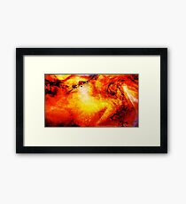 Into the Afterglow 1 Framed Print