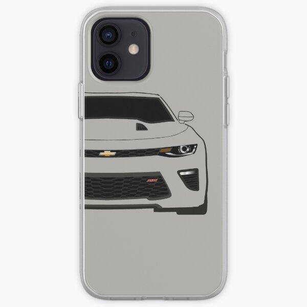 Camaro 2016 SS Half Cut iPhone Soft Case