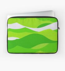 Waves - Lime green Laptop Sleeve