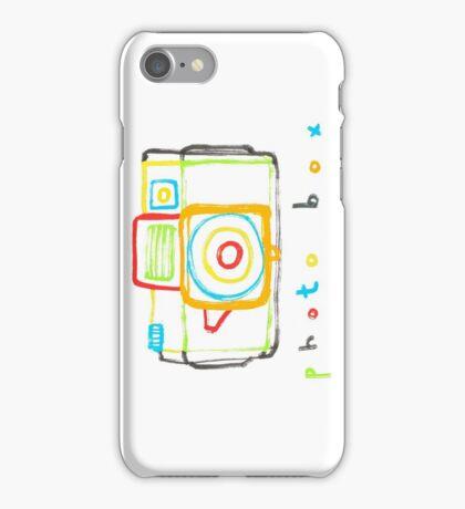 photo box iPhone Case/Skin