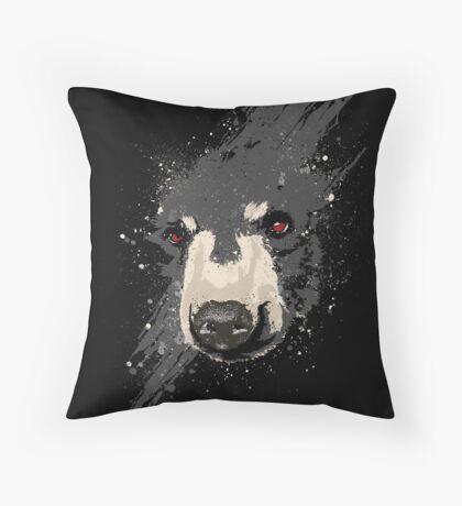 The Hidden Bear Throw Pillow