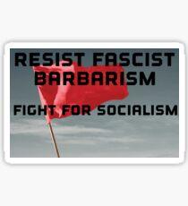 Fight For Socialism Antifa Sticker