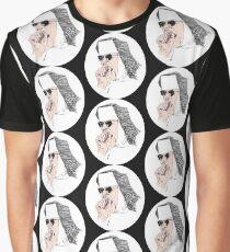Sleepy Nun Graphic T-Shirt