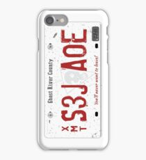 Nicole Haught's License Plate iPhone Case/Skin