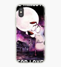 COURAGE - THE THINGS I DO FOR LOVE iPhone Case
