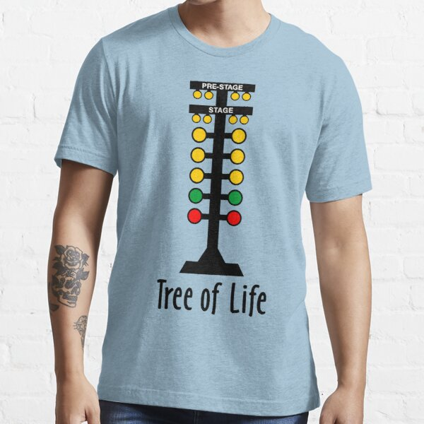 Drag Racing Tree of Life Essential T-Shirt
