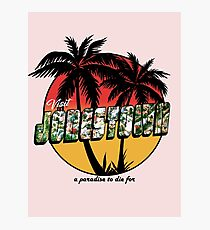 A Paradise to Die For Photographic Print