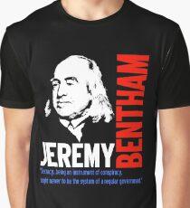 JEREMY BENTHAM Graphic T-Shirt
