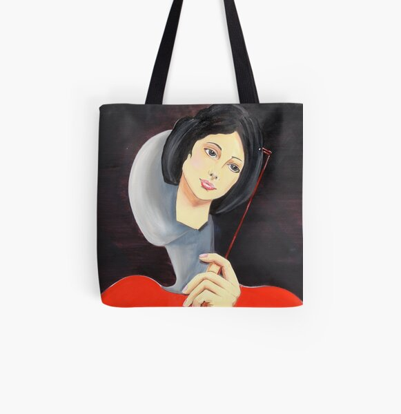 Behind the Mask All Over Print Tote Bag