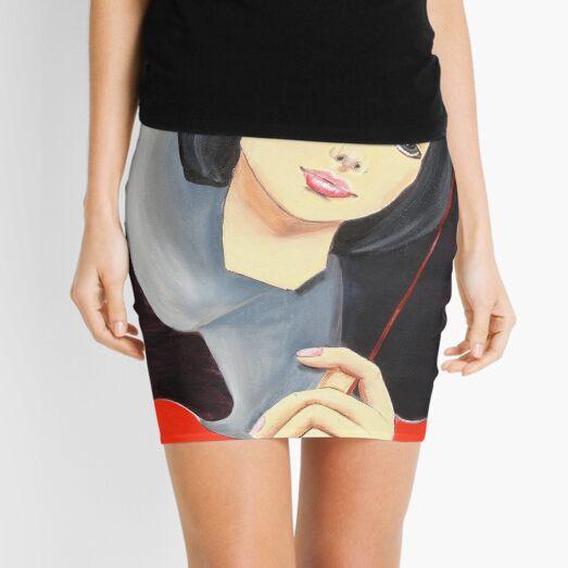 Behind the Mask Mini Skirt