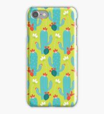 Blooming Desert (Green) iPhone Case/Skin