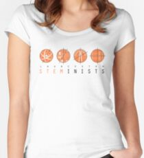 STEMinism no. 2 Women's Fitted Scoop T-Shirt