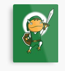 The Hero of Another World Metal Print