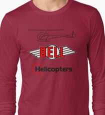 Retro Bell 47 Helicopter T-Shirt
