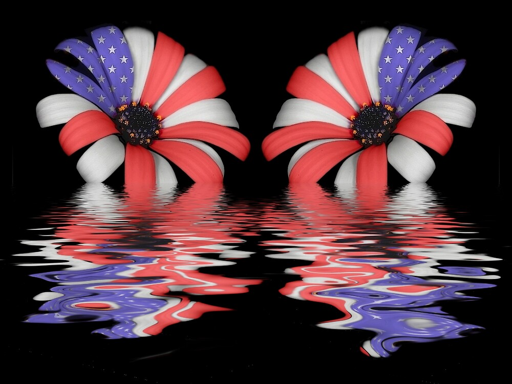 Flooded Freedom Flowers by Kurt Hawkins