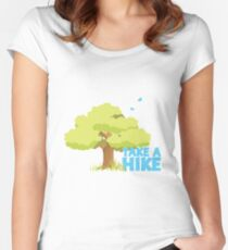 Take a Hike! Women's Fitted Scoop T-Shirt