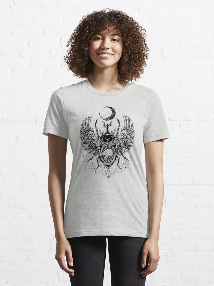 Alternate view of Sacred Scarab Essential T-Shirt