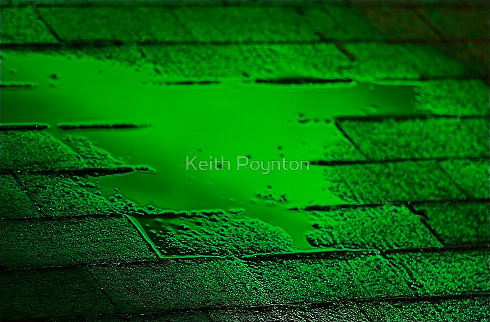 Green path by Keith Poynton