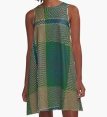 Chisholm Colonial Clan/Family Tartan A-Line Dress
