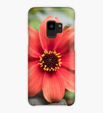 A Peachy Dahlia Case/Skin for Samsung Galaxy