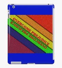Overcome Prejudice iPad Case/Skin
