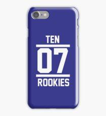 TEN 07 ROOKIES iPhone Case/Skin