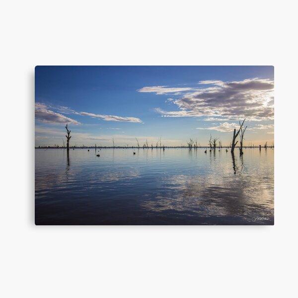 Lago Mulwala, Yarrawonga, Victoria, Australia. Lienzo