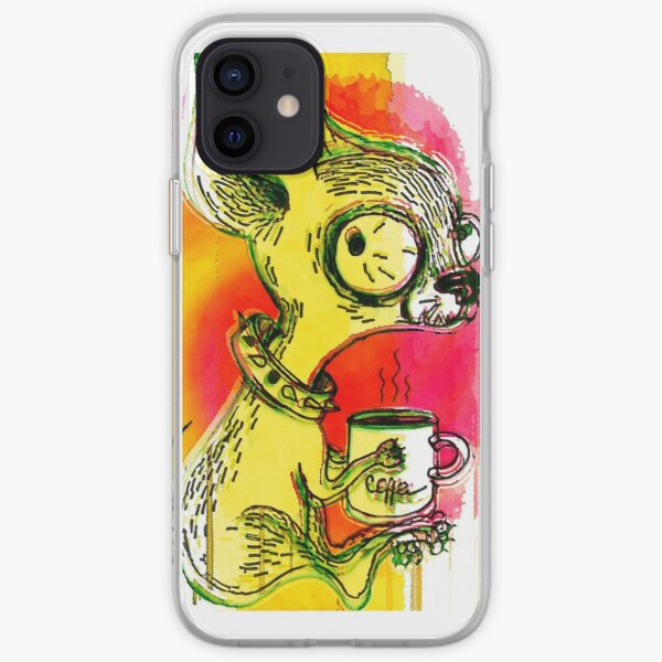 The First Cup iPhone Soft Case