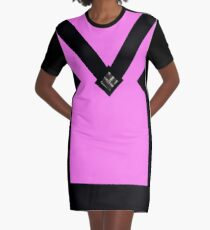 You + Royal Orchid Graphic T-Shirt Dress