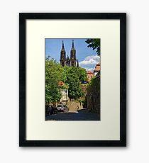 Castle & Cathedral, Meissen, Saxony Framed Print