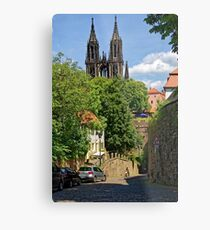 Castle & Cathedral, Meissen, Saxony Metal Print