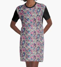 floral devices Graphic T-Shirt Dress