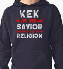 MEMES ARE MY RELIGION Pullover Hoodie