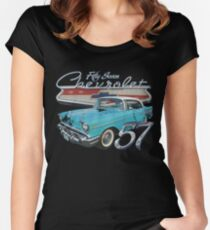 1957 Chevy Women's Fitted Scoop T-Shirt