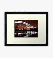 Runcorn Widnes Bridge Framed Print